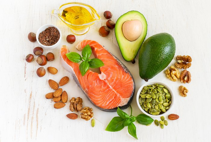 healthy fats and protein